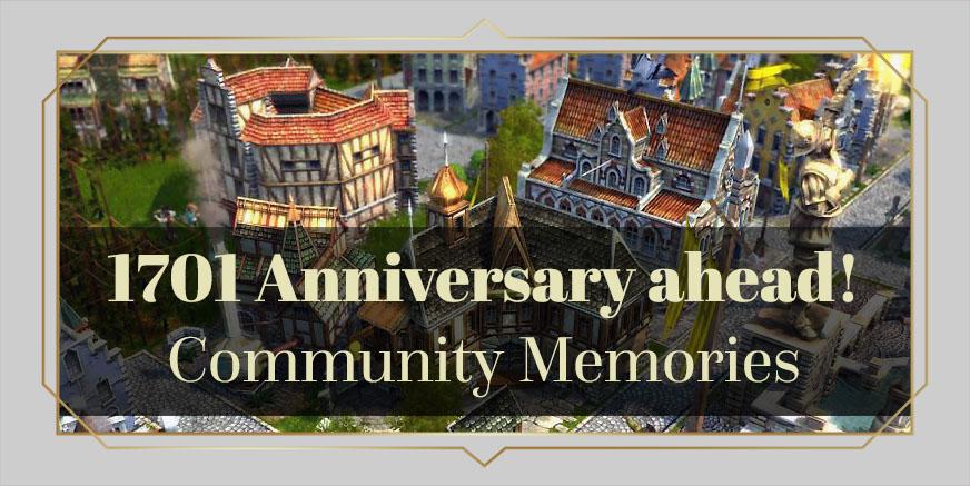 1701 Anniversary: Share your memories!