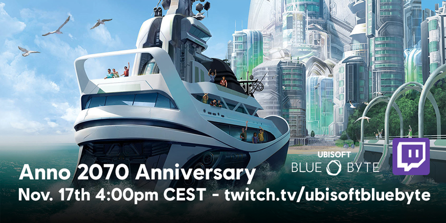 DevStream: Watch the 2070 anniversary live!