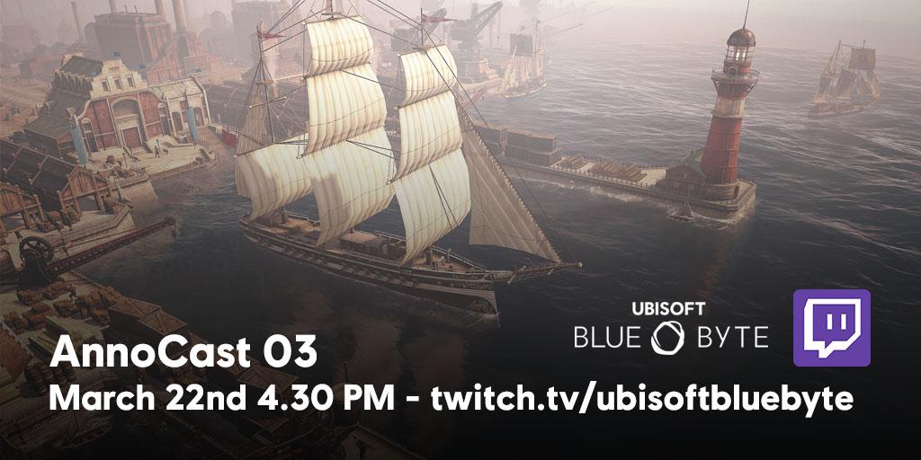 AnnoCast 03: Watch LIVE from 4.30pm CET/ 11.30am EST/ 8.30am PST