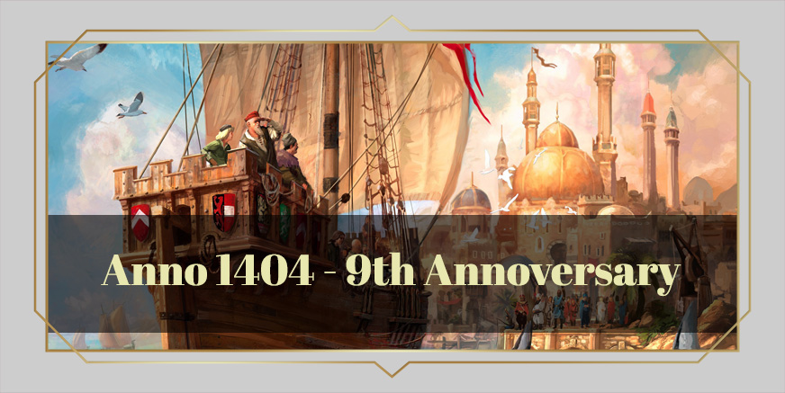 Union Update: Nine years of Anno 1404