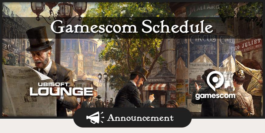 Union Update: Anno 1800 gamescom schedule