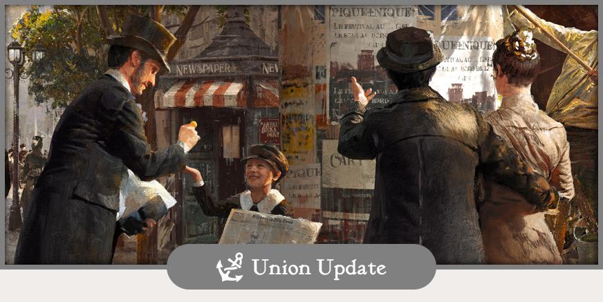 Union Update: Vorschau zur gamescom 2018