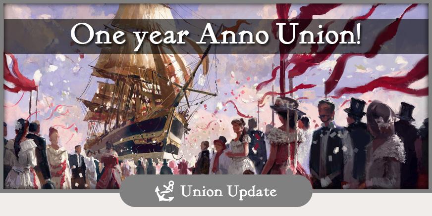 UnionUpdate: One year Anno Union!