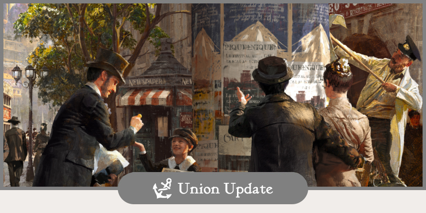 Union Update: Closed Beta Information