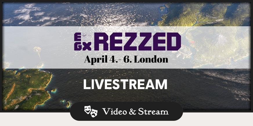 Stream: LIVE von der EGX Rezzed!