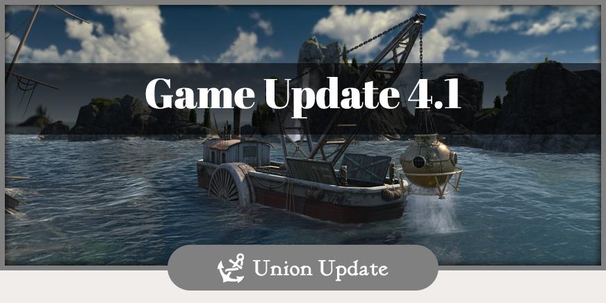 Union Update: Game Update 4.1