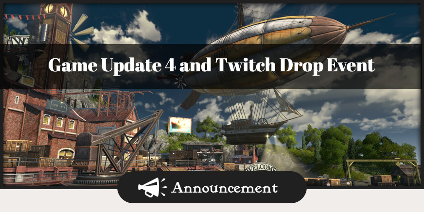 Union Update: GU4 and Twitch Drop Event