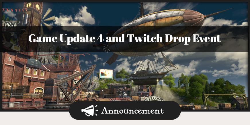 Union Update: GU4 und Twitch Drop Event