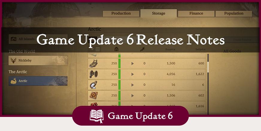 Game Update 6