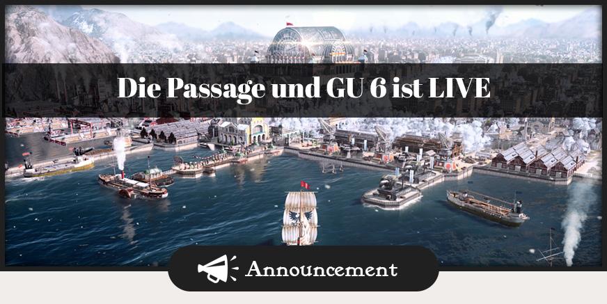 Die Passage, GU6 und das Weihnachtspacket sind nun erhältlich!
