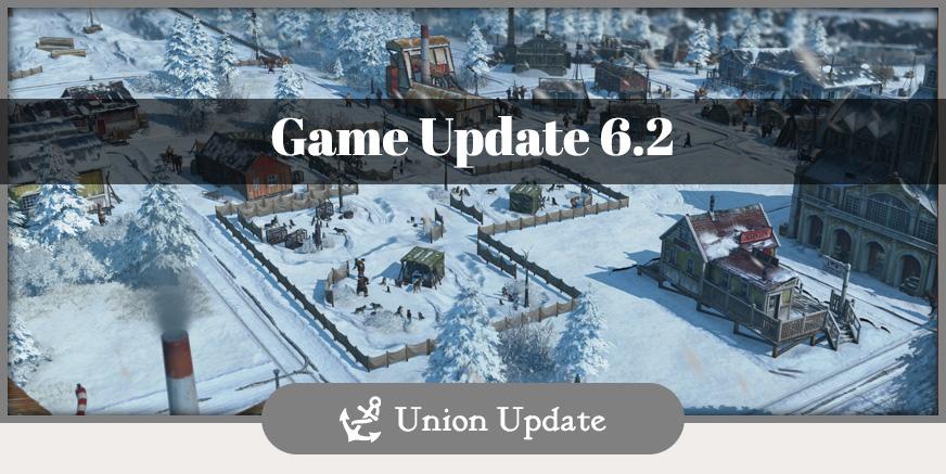 Union Update: Mit Game Update 6.2 ins neue Jahr!
