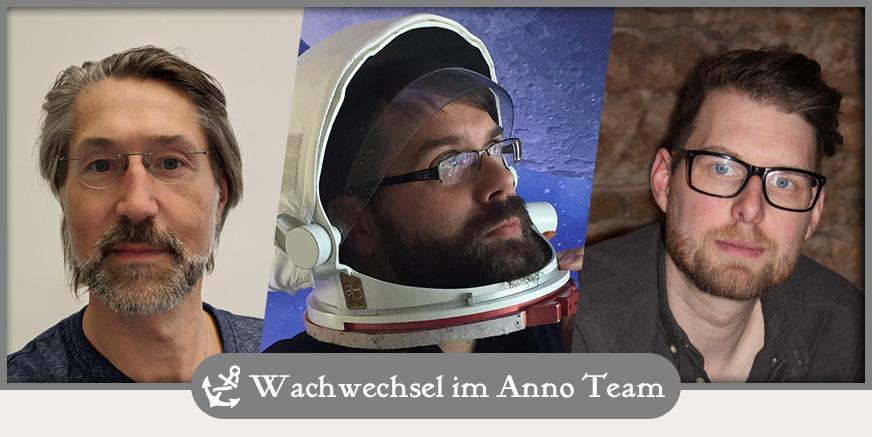 Wachablösung im Anno-Team