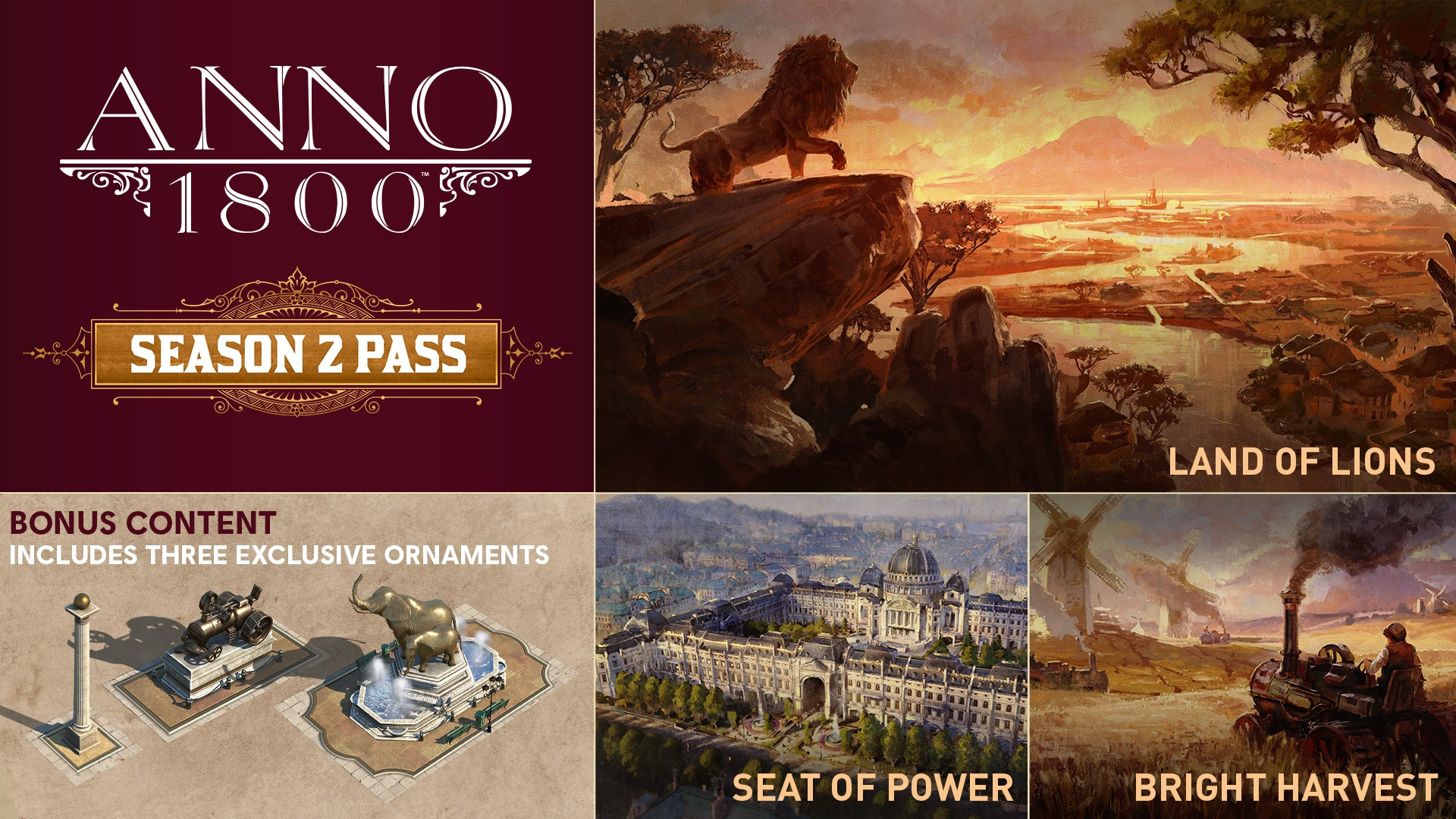 Announcing the Anno 1800 Season 2 Pass