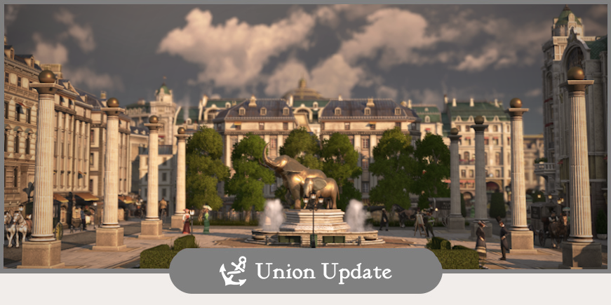 Union Update – Season 2 & City Sightseeing