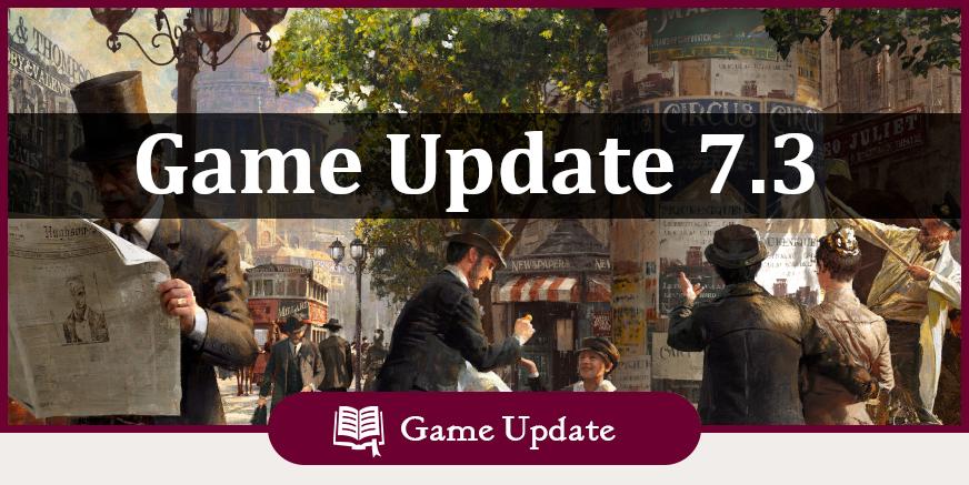 Game Update 7.3