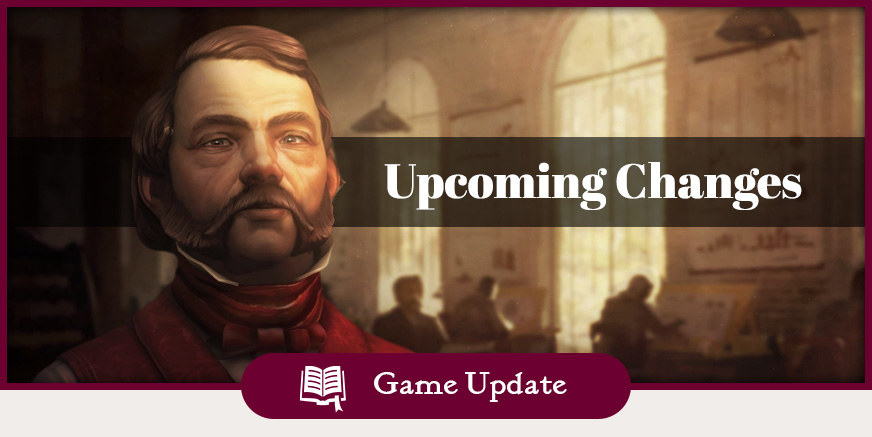 Balance changes coming with Game Update 8