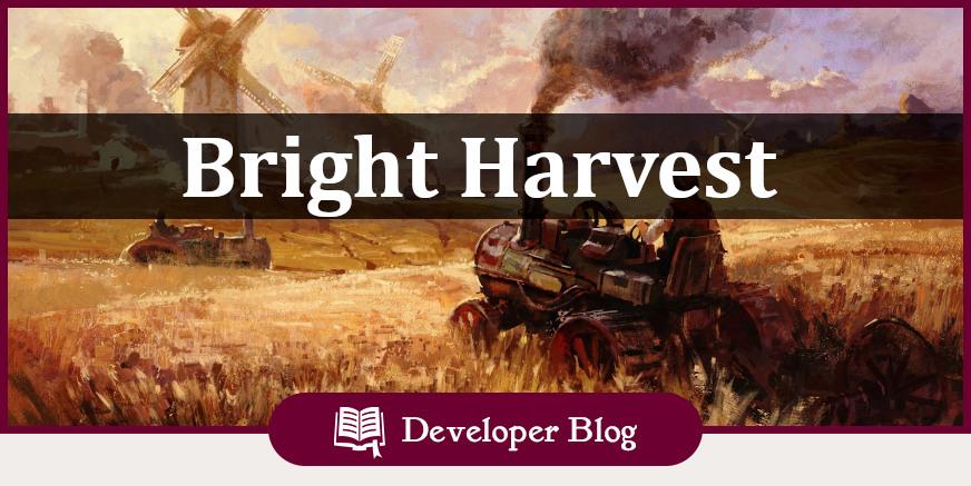 DevBlog: Bright Harvest