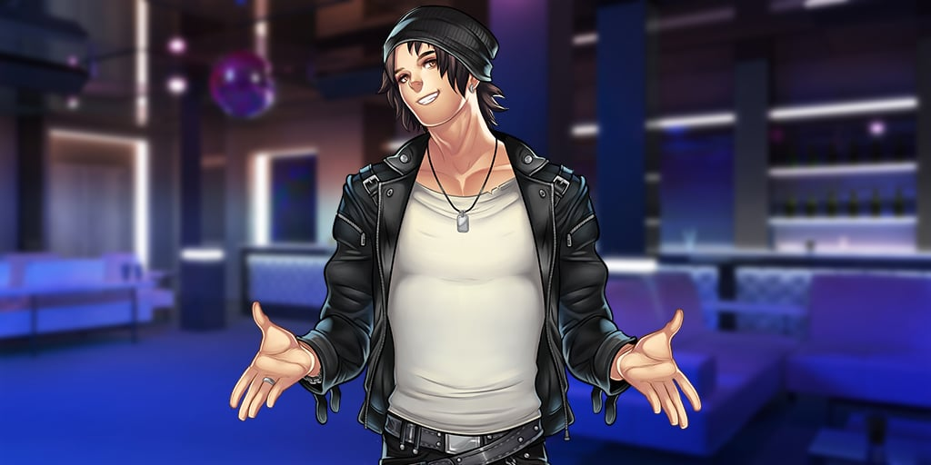 Matt dans le visual Novel Is It Love de profil