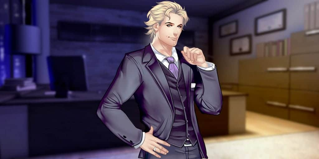 Gabriel personnage du Otome Game Is it Love
