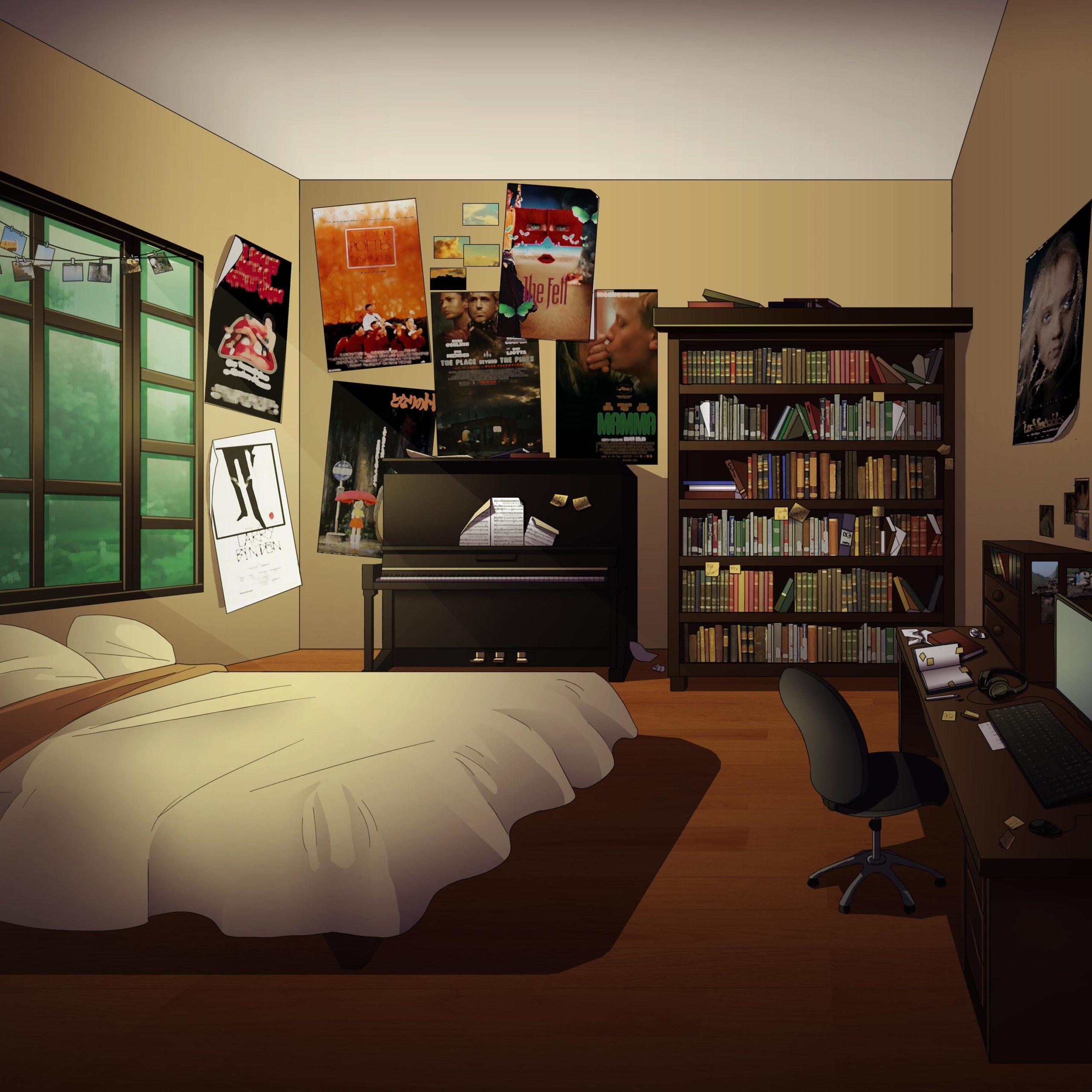 Peter personnage de Is It Love et vue d'une chambre