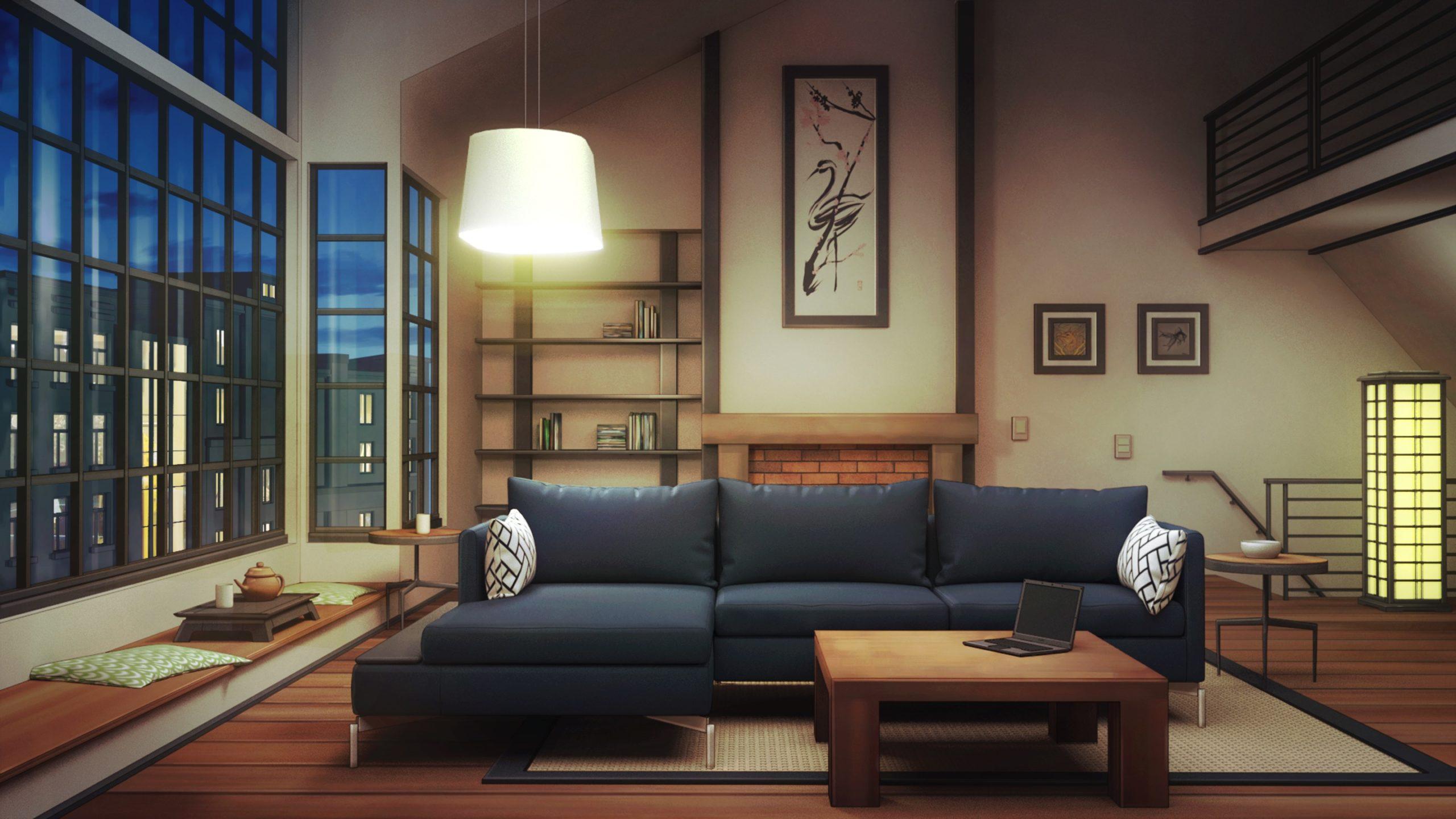 Peter personnage de Is It Love et vue de l'intérieur d'un loft