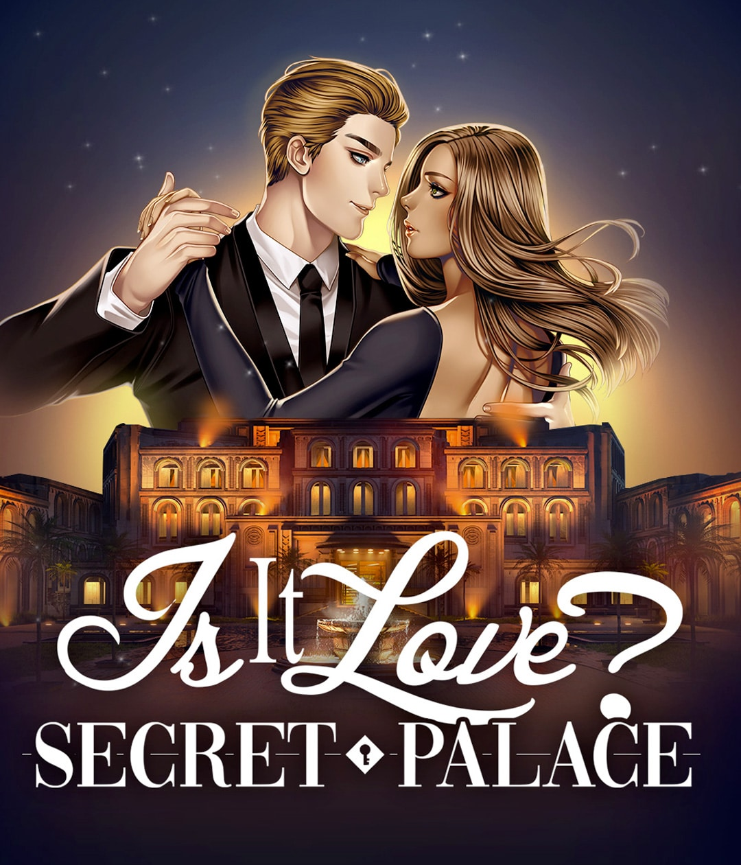 Affiche de l'histoire secret palace du jeu Is It Love