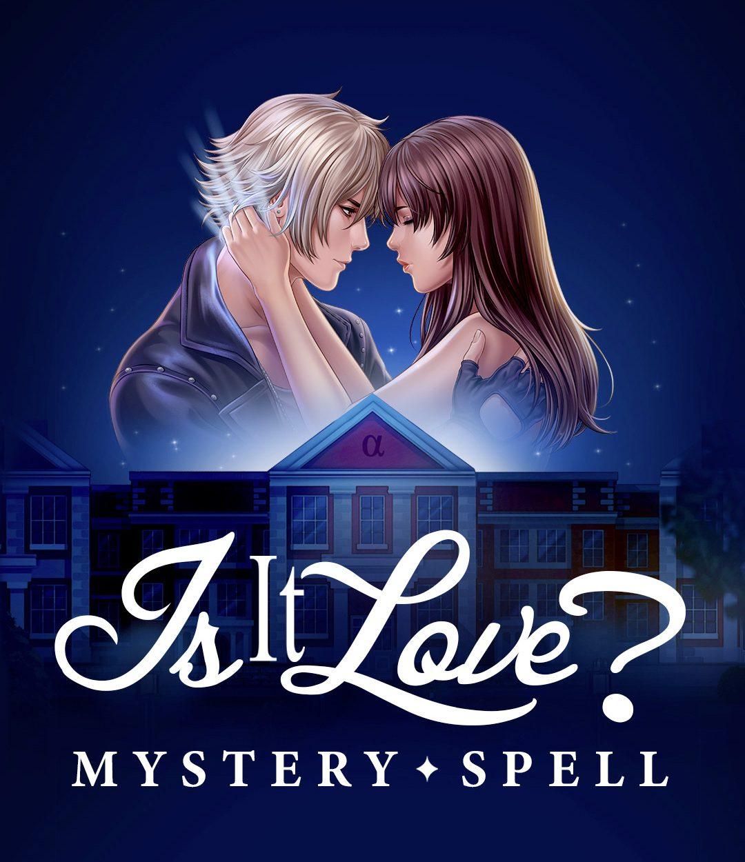Affiche de l'histoire Mystery Spell du jeu Is It Love