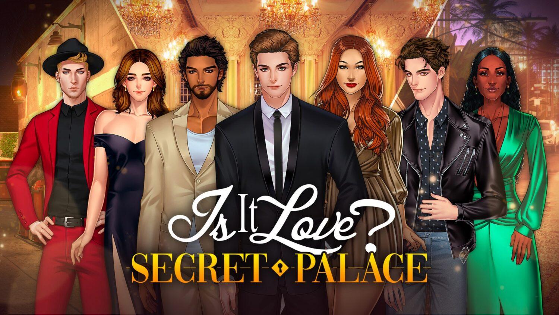 Dans le jeu Secret palace découvrez James