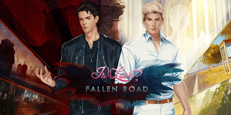 affiche du jeu Fallen Road dans le visual Novel Is It Love