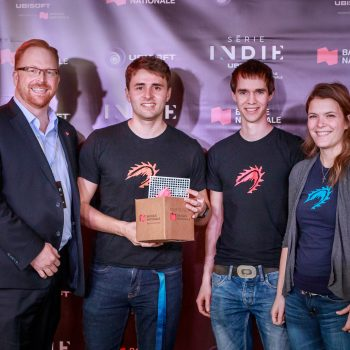 Thunder Lotus Games, Norsfell (QC) and Reptoid Games (ON), winners