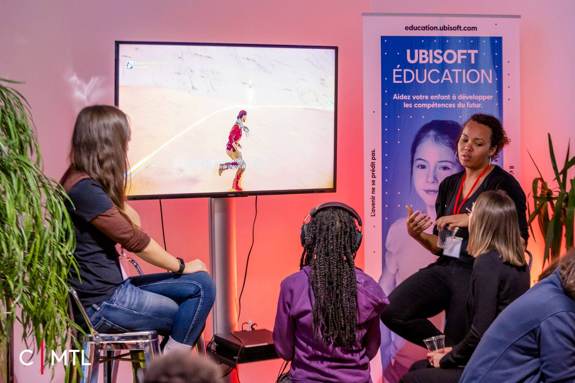 Ubisoft Education: Promoting science and tech to young girls