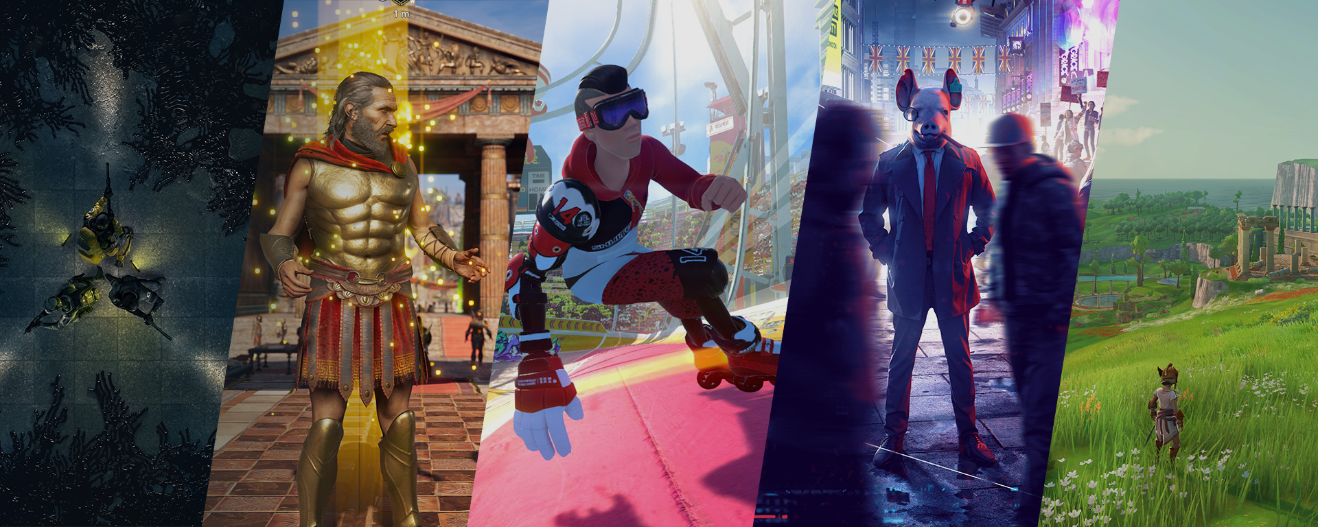 Cinq nouveaux jeux : l'expertise québécoise et canadienne d'Ubisoft à son meilleur!