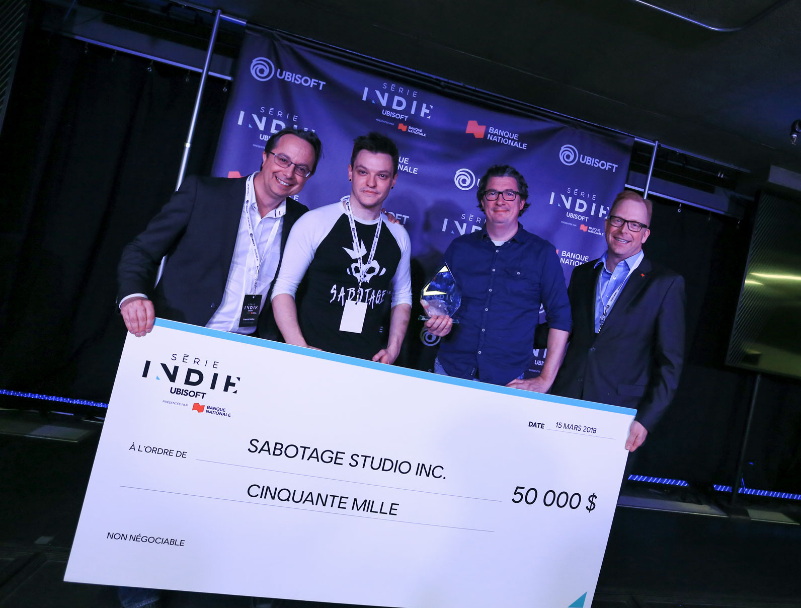 Interview with Sabotage studio, winners of the Ubisoft indie Series 2018