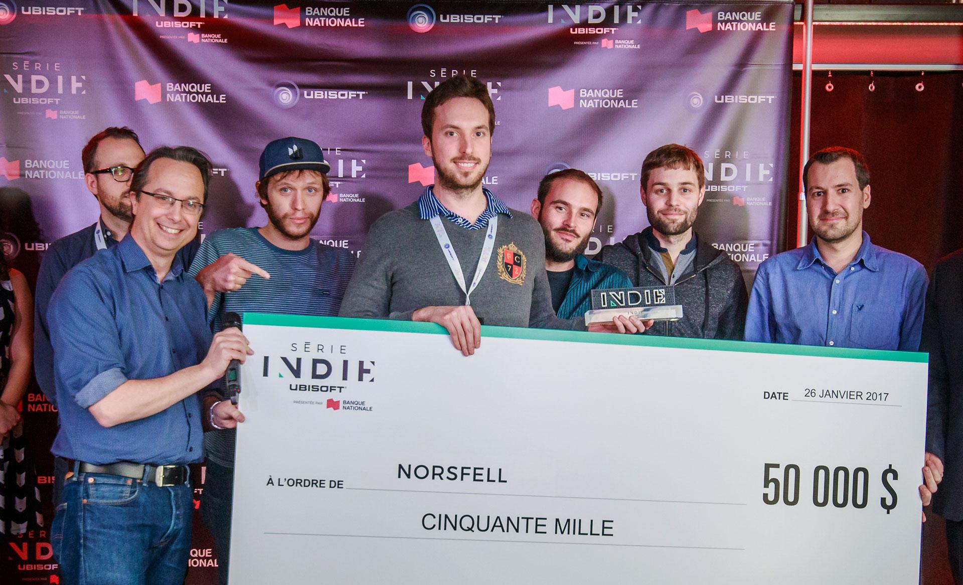 Entrevue avec le studio Norsfell – gagnants de la série indie 2017