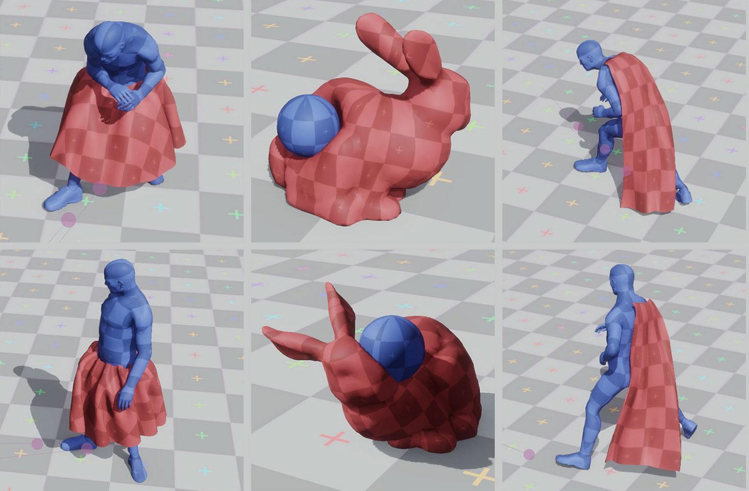 Ubisoft La Forge produces a data-driven physics simulation based on Machine Learning