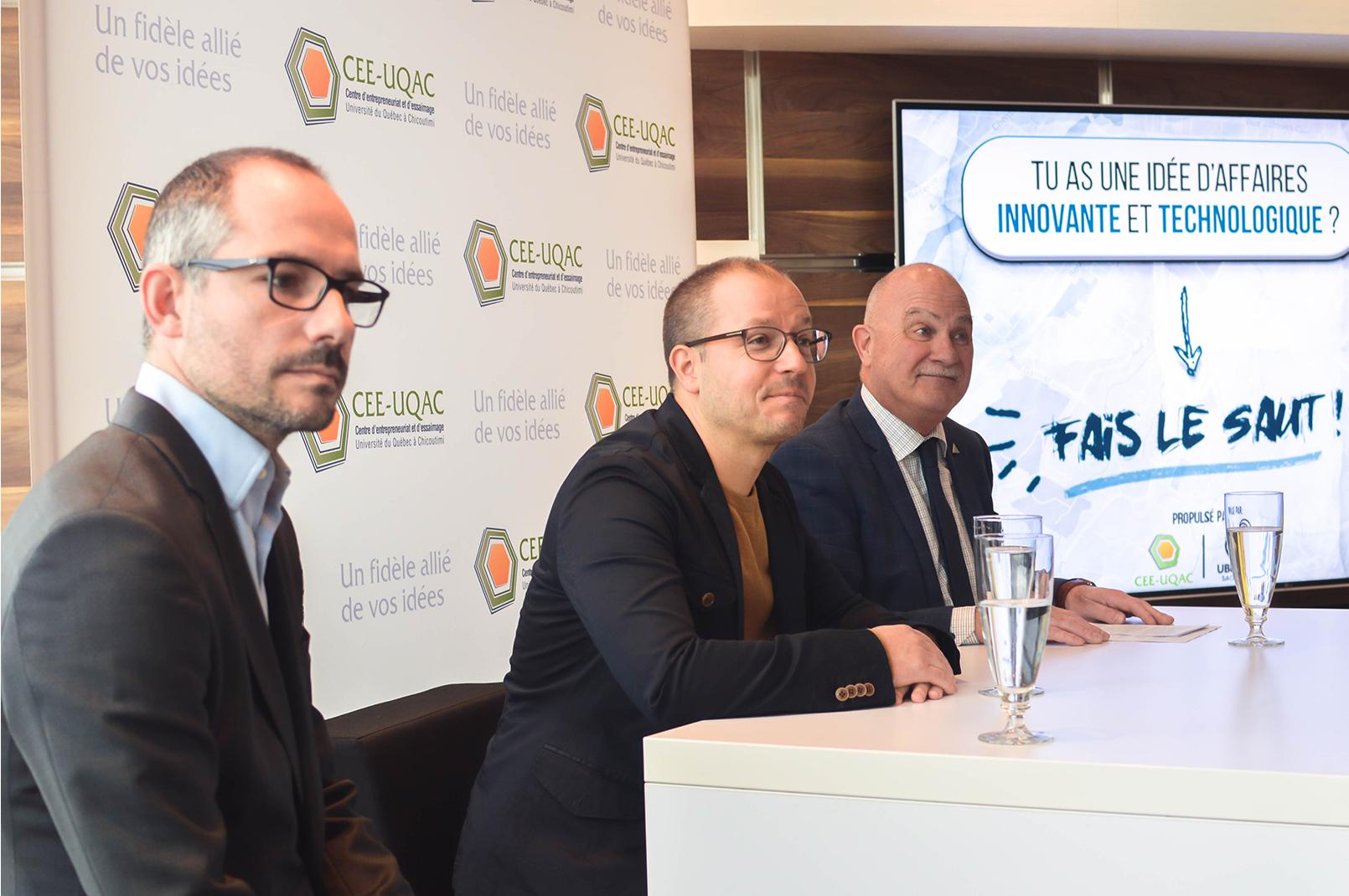 Ubisoft Saguenay et le CEE-UQAC s'associent pour propulser un projet d'affaires innovant