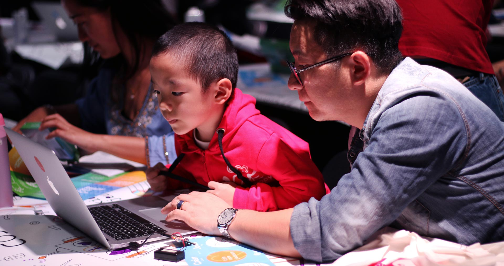 Programming to develop young people's interest in science and technology