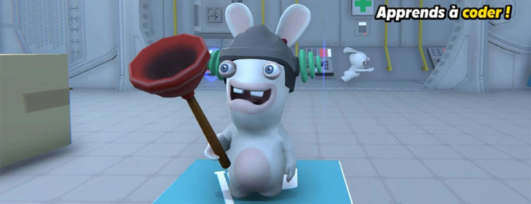Discover the passion story behind Rabbids Coding