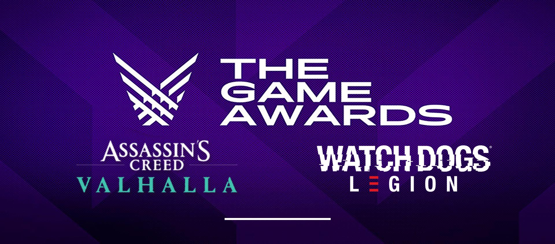 Votez pour Ubisoft aux Game Awards 2020 !