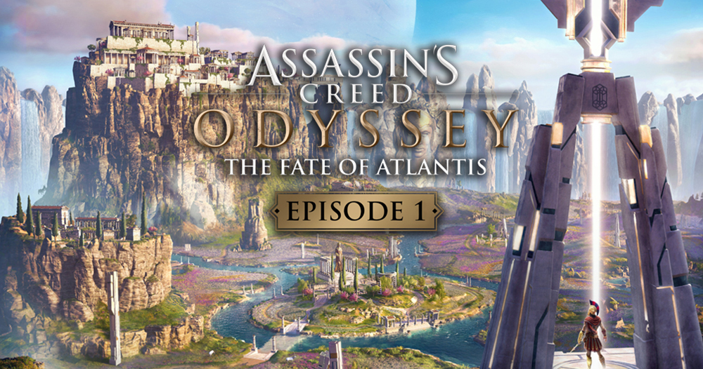 Assassin's Creed Odyssey The Fate of Atlantis available starting