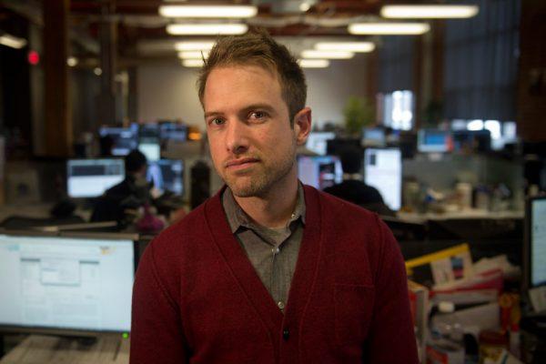 Ubisoft Toronto Managing Director Alex Parizeau in the Ubisoft Toronto studio