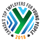Canad'as Top Employers for Young People 2018 Logo