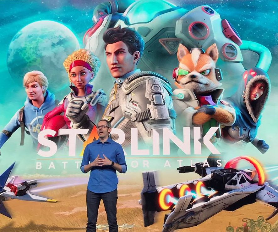 How Star Fox joined forces with Starlink: Battle for Atlas