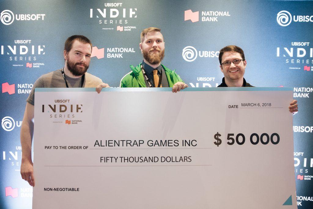 Indie Series Alientrap Games Winners