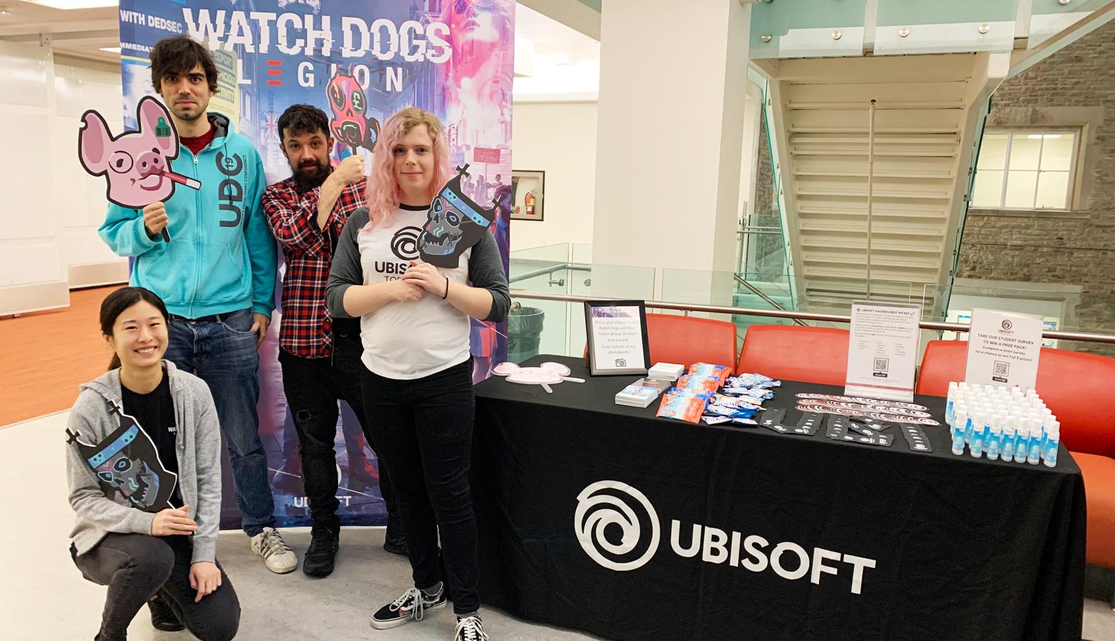 Ubisoft at SheHacks IV