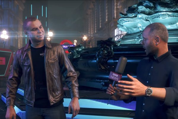 BBC Click interviews Watch Dogs Legion creative Director Clint Hocking in the video game