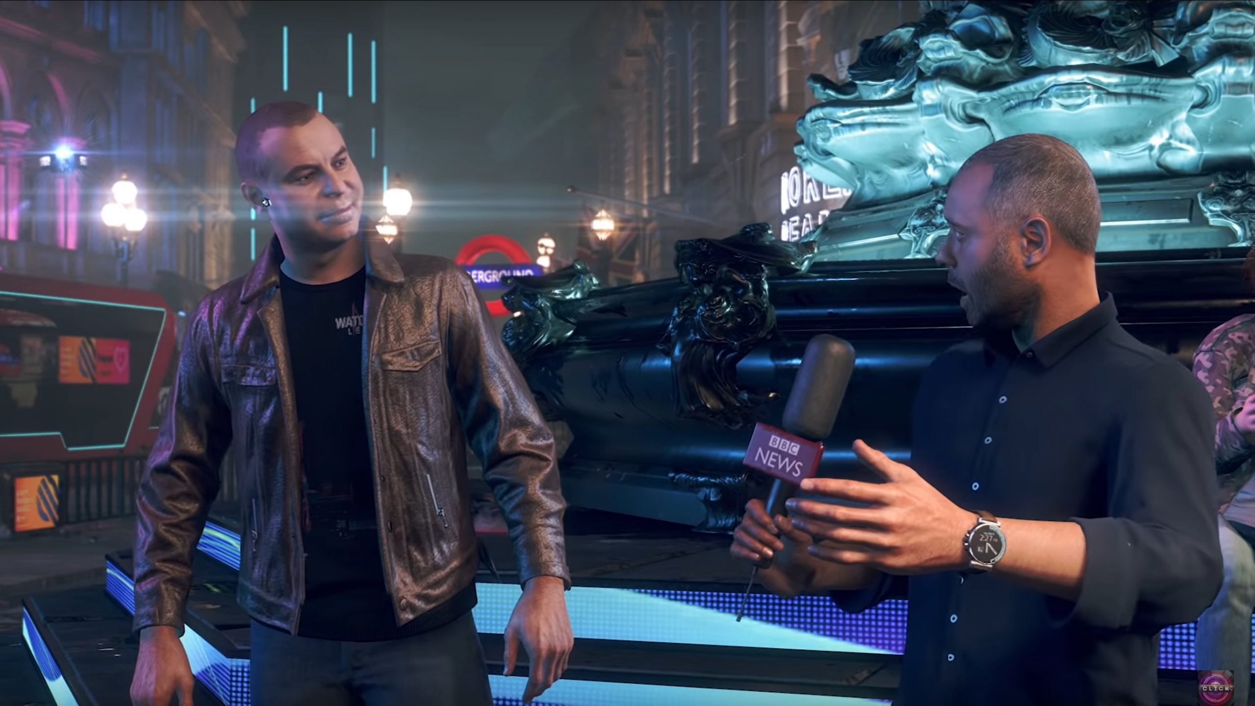 Inside the game, literally – BBC enters Watch Dogs: Legion for first-ever in-game interview