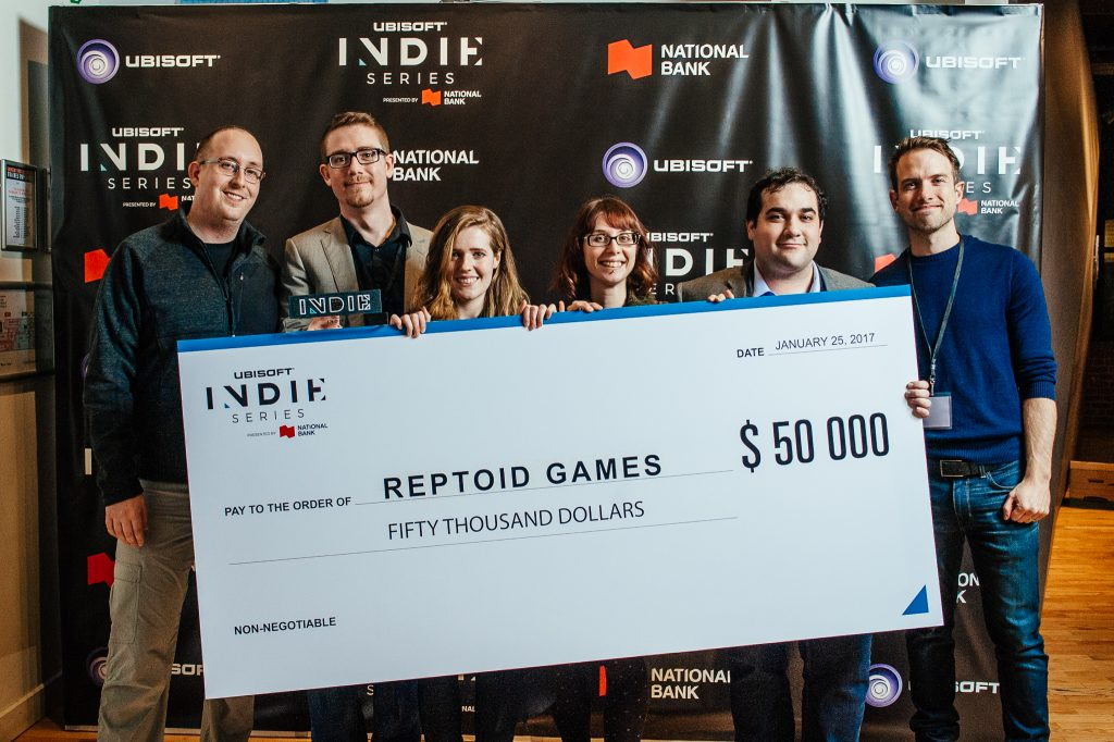 Indie Series winners Reptoid Games