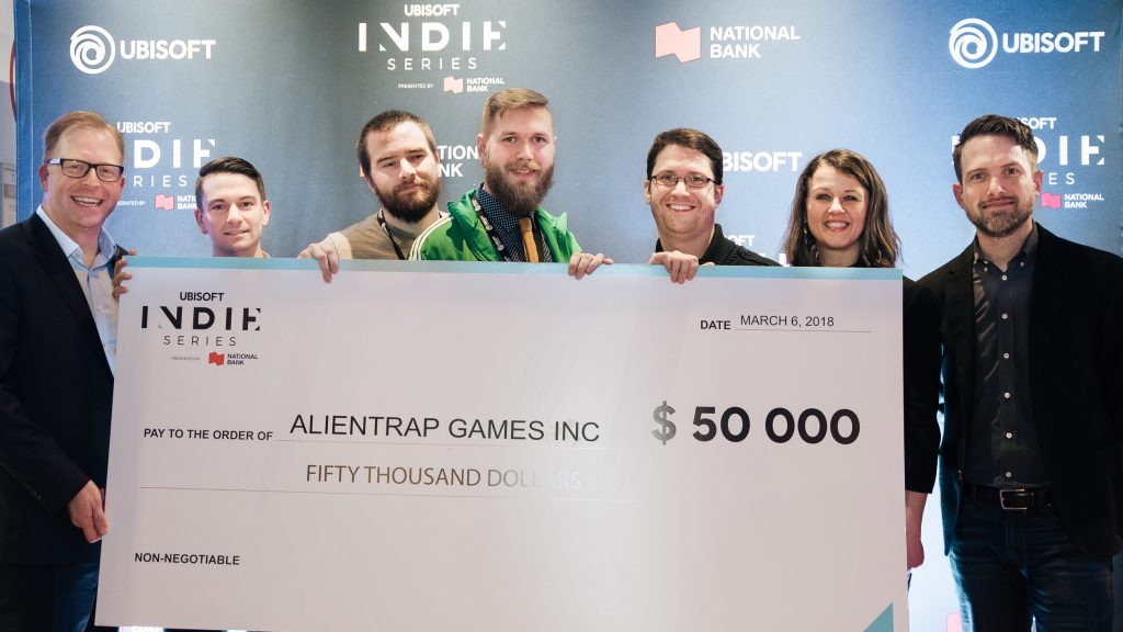 Indie Series winners Alientrap Games Inc