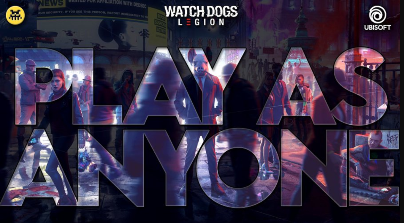Play-As-Anyone: The AI of Watch Dogs Legion